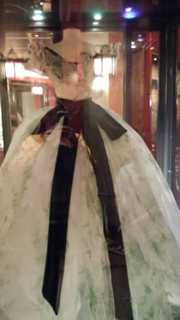 Dress worn in Gone With The Wind
