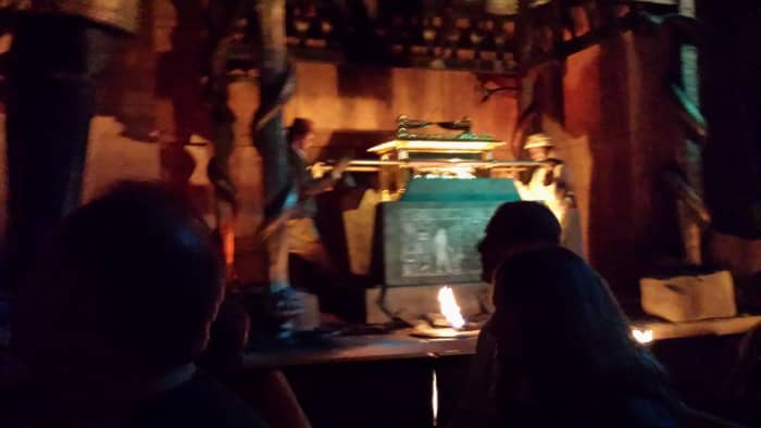 Indiana Jones at the Great Movie Ride
