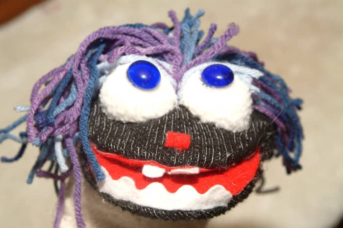 Sock Puppets are a blast and make original gift ideas!