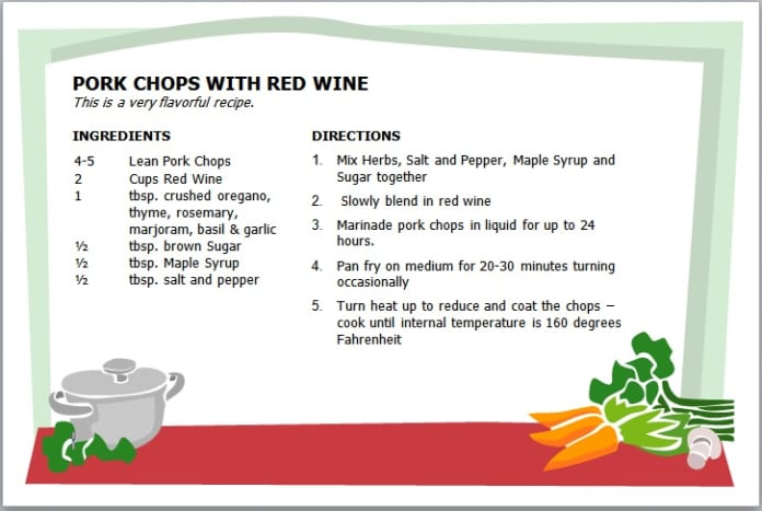 pork-chop-with-wine-recipe