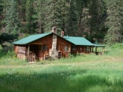 Our cabin in Tererro, New Mexico