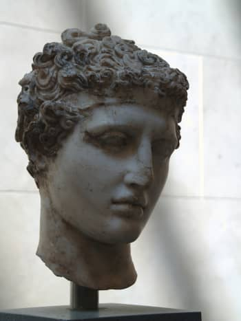 Greek athlete sporting a headband.