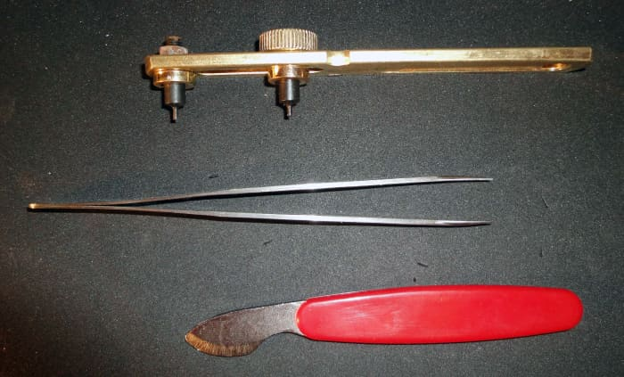 Tools for removing both snap on and screw on watch backs
