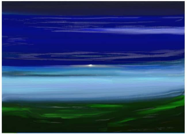 © 2007 Background Canvas using ArtRage