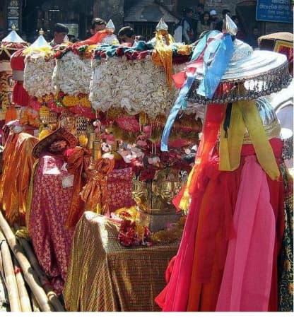 The local deities at Shivratri Fair