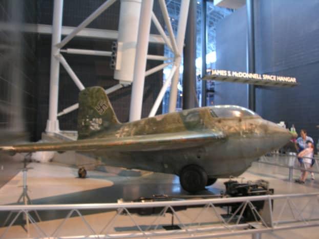 The Me-163 Komet at the Udvar-Hazy Center, June 2014.