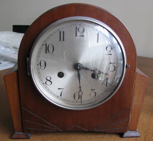 Not a grandfather clock but my Granddad's clock!