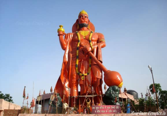 Hanuman of Ram Tirath temple