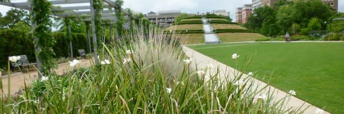 The Garden Mound at McGovern Centennial Gardens