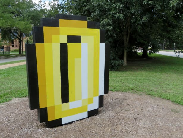 """The Original Bit-Coin by Anthony Thompson Shumate on the """"Obstacle Art Path"""""""