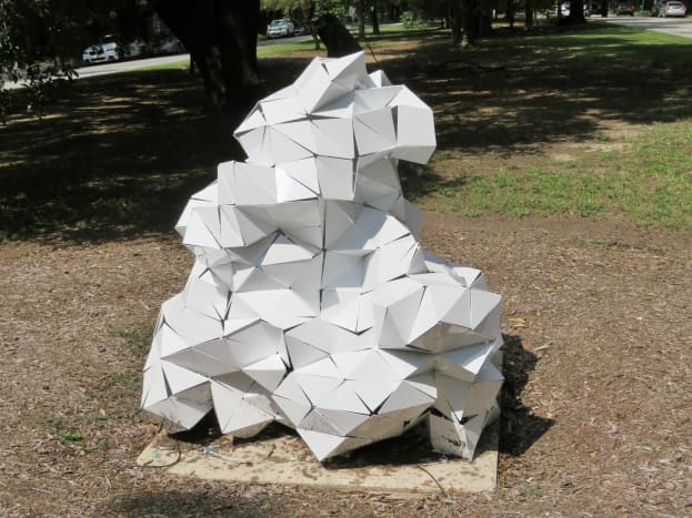 """Glacier Parallax by Adela Andea on the """"Obstacle Art Path"""""""