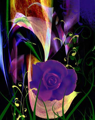 New Rose - Digital Creation RE Kongaika