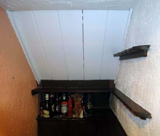 Two Original Wall Shelves.