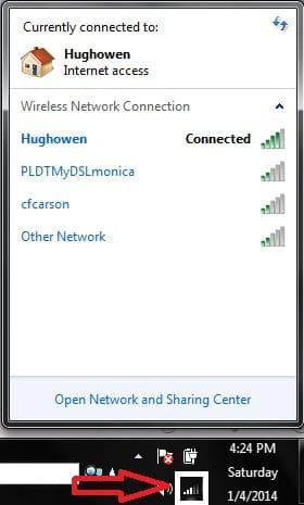 Toolbar Internet Access Icon