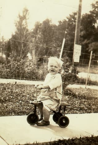 My dad as a little tyke