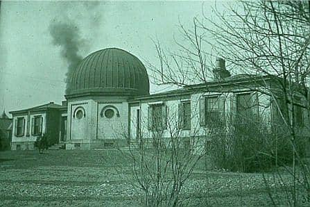 An historic view of the Allegheny Observatory, courtesy Allegheny Observatory.