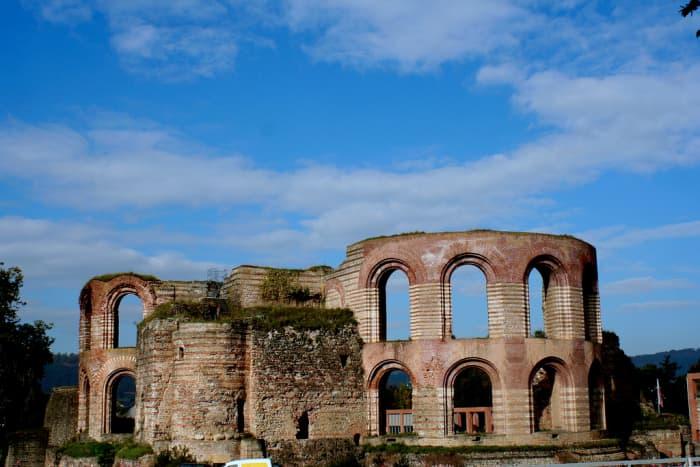 What remains of a Roman Bathhouse