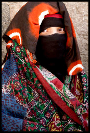The Sana'ani Sitarah with its traditional Mughmug and Lithmah