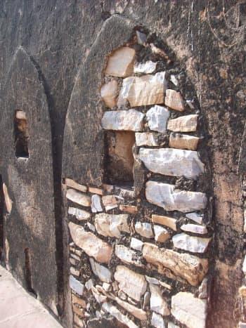 Arrow Slit: Jaigarh fort, Rajsthan, India