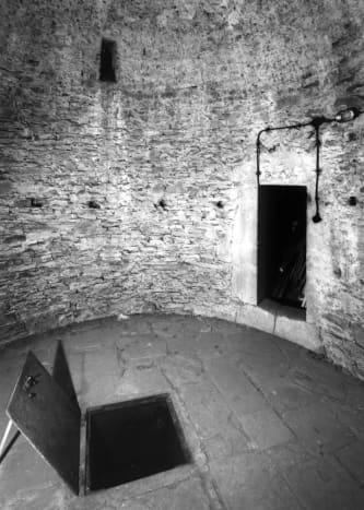 An angstloch at Wildenburg Castle