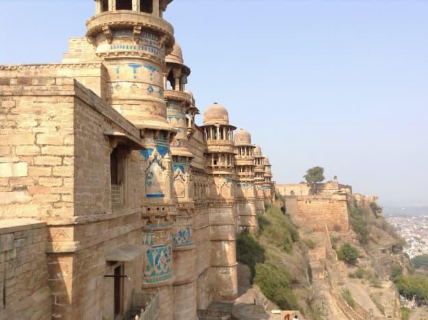 Bastion - Gwalior fort