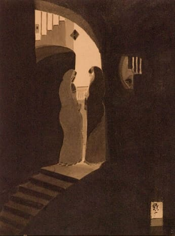 Meeting at the staircase (1920–1925)