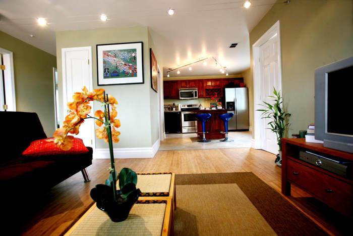 Corporate housing unit we did in San Jose, California