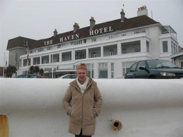 The historic Haven Hotel, Sandbanks