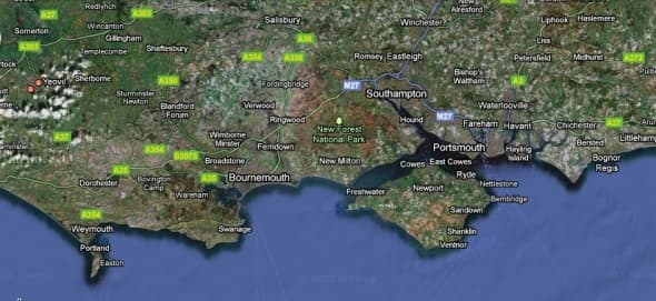 The county of Dorset on the South Coast of England.