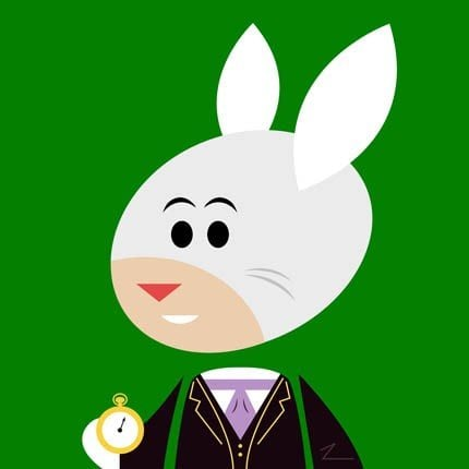 """White Rabbit"" by Brian Gubicza"