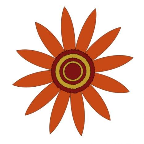 Autumn Flower Clip Art