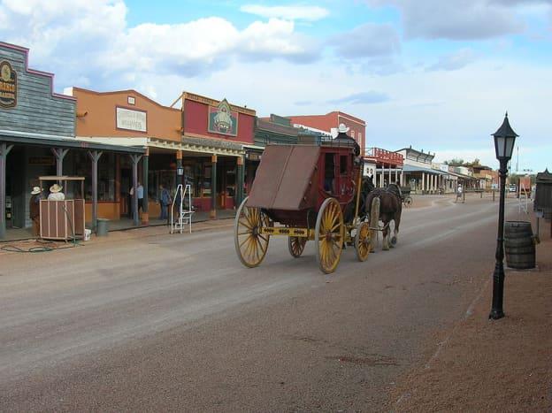 Allen Street In Tombstone Arizona Today