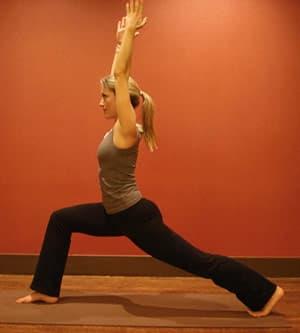 Yoga Exercise Position