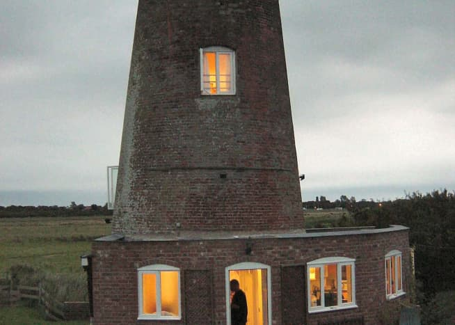 Red Mill holiday flat on the Norfolk Broads