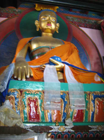 Tibetan Monastery in Manali.