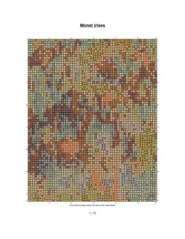 free-cross-stitch-pattern-monet-garden-with-irises