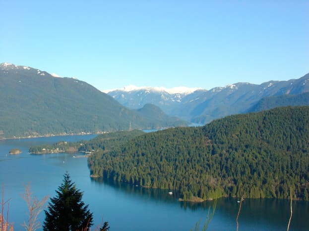 Burrard Inlet and Indian Arm