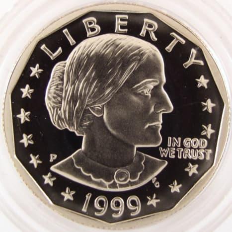 1999S Susan B Anthony Proof.