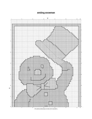 free-cross-stitch-pattern-dapper-snowman