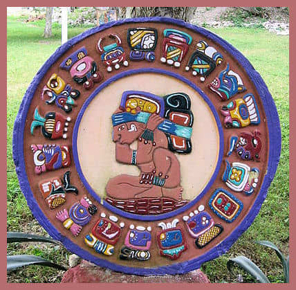 Note that the Mayan Calendar looks and is different from the Aztec sun calendar