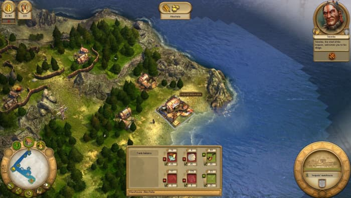Anno 1701 A.D. Gameplay
