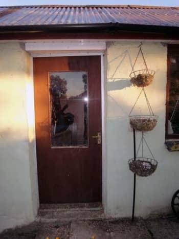Door to my workshop.