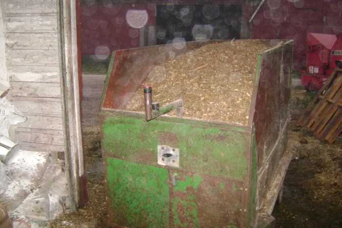 A Loaded Silage Cart
