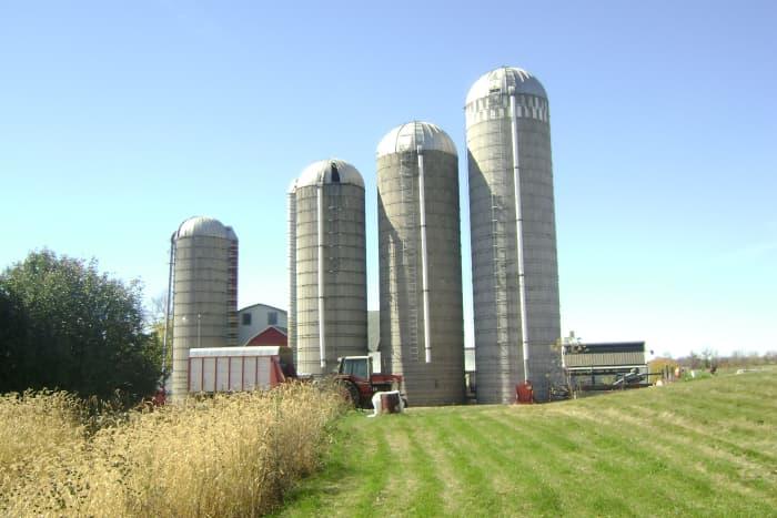 My sis's farm on Dutch Road