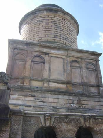 Front of Hamilton Mausoleum