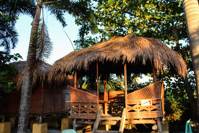 Kubo (Cottage) that can be rented at P400