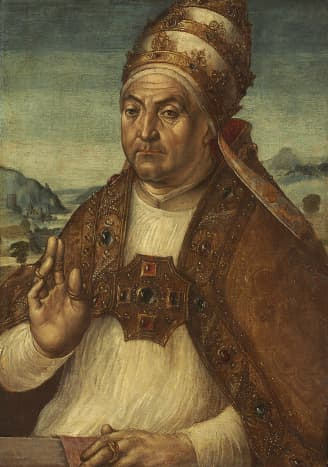 Pope Sixtus IV, Pope from 1471-1484.