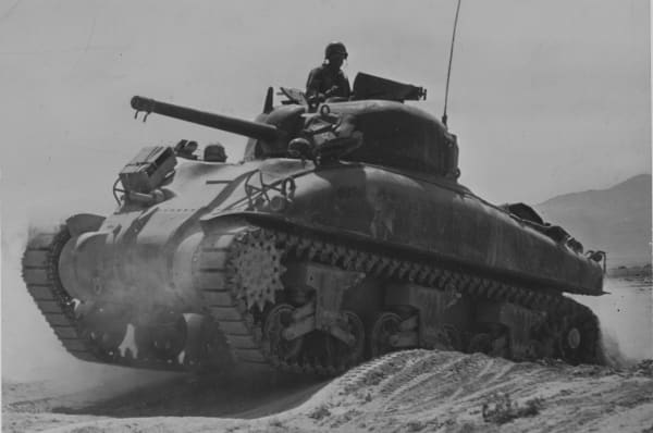 """The Sherman tank nicknamed the """"Ronson Can"""" due to the fact the were so easy to set fight to. Ranson lighter fluid was use in zippo cigarette lighters in the 1940s."""