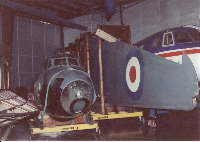 The Smithsonian's Mosquito at the Paul E. Garber Facility, April 1992.