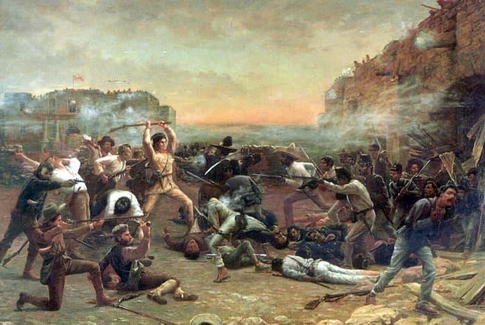The Fall of the Alamo (1903) by Robert Jenkins Onderdonk